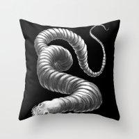 kozyndan Throw Pillows featuring I Wish You Were Still Inside Of Me by kozyndan