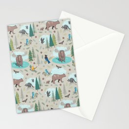 Wild Adventures Stationery Cards