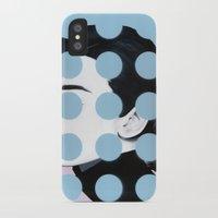 Audrey (Dots) by Famous When Dead Slim Case iPhone X