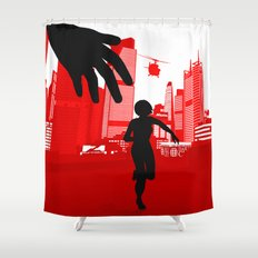 Mirror's Edge Shower Curtain