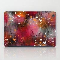 splatter iPad Cases featuring Splatter by KRArtwork