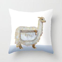 Pack Alpaca Throw Pillow