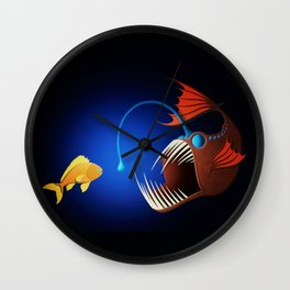 Anglerfish Wall Clock