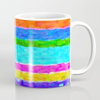 miami Mugs featuring Miami by Saundra Myles
