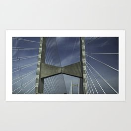 Abstract Engineering Art Print