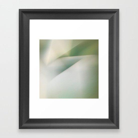 Space Geometry II/II Framed Art Print