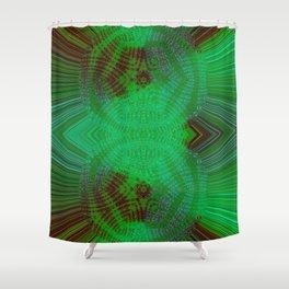 Greener Pattern 8 Shower Curtain