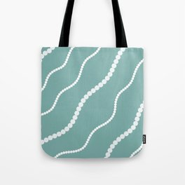 Pearly Waves Tote Bag