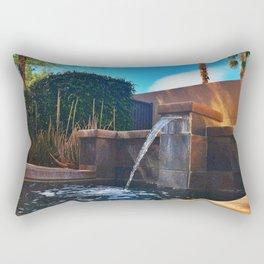 Desert Relaxation Rectangular Pillow