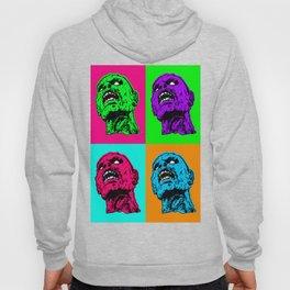Pop art zombie Hoody