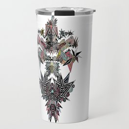 Mirror Parrot Travel Mug