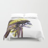 native american Duvet Covers featuring Native by @Subliminal_society