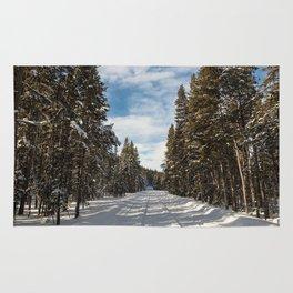 Yellowstone National Park - Grand Loop Road Rug