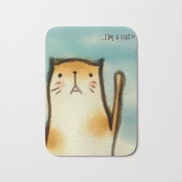...I'm A Cat? Bath Mat