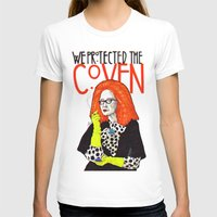 coven T-shirts featuring WE PROTECTED THE COVEN by Robert Red ART