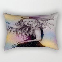 watercolor`s life Rectangular Pillow