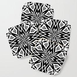 Black White   Leyana Coaster