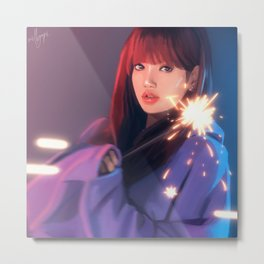 BLACKPINK Lisa Metal Print