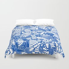 - the captain who fell with the blue angels - Duvet Cover