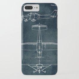 CESSNA 172 - First flight 1955 iPhone Case