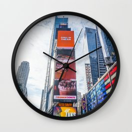 Daytime Times Square-pt.2 Wall Clock