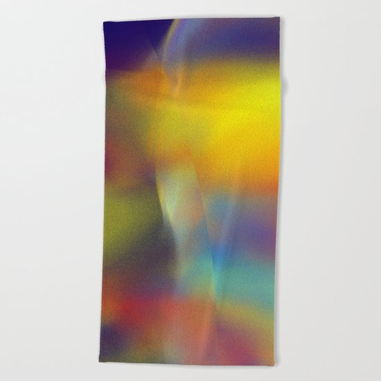 colorkleckse Beach Towel