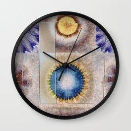 Serology Bald Flowers  ID:16165-155655-05591 Wall Clock