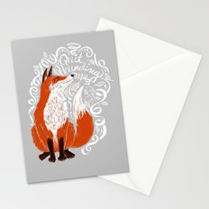 The Fox Says Stationery Cards