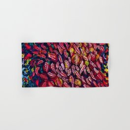 Flowers of the Red Tree, Crimson King Tree by Seraphine Louis Hand & Bath Towel