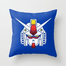 Mobile Suit in Disguise Throw Pillow