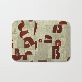 Absract Collage Bath Mat