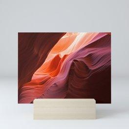 The Waves of Antelope Canyon Mini Art Print