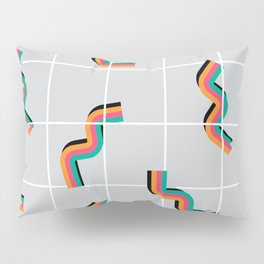 Curly fries inspired Pillow Sham
