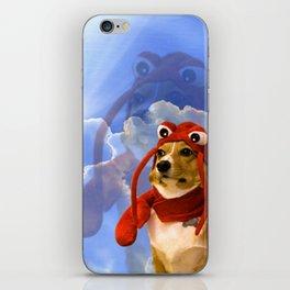 Lobster Corgi iPhone Skin