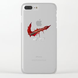 Bouncing Animals Clear iPhone Case