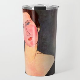 "Amedeo Modigliani ""Portrait of Madame Georges Van Muyden.jpg Travel Mug"