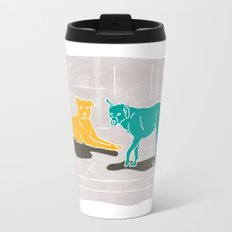 Two Dogs Travel Mug