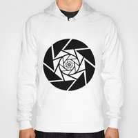 vector Hoodies featuring Aperture Vector by Alli Vanes