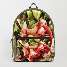 Timeless Tropicana Roses Backpack