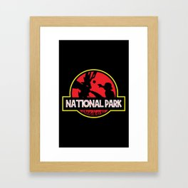 National Park Framed Art Print