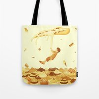 food Tote Bags featuring Food by Alendro