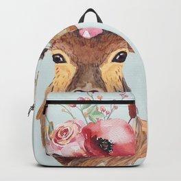 Bohemian Deer 2 Backpack