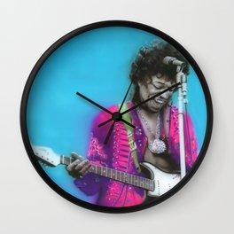 'Aqua Haze' Wall Clock