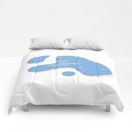 Space Rocks Comforters