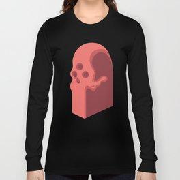 Edgar's Skull Totem Long Sleeve T-shirt
