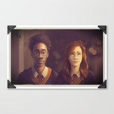 James and Lily Canvas Print