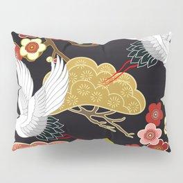 Japanese bird pattern Pillow Sham