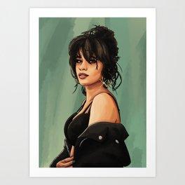 Camila Cabello Art Print