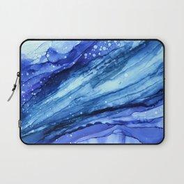 Cracked Blue Marble Laptop Sleeve