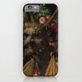 Giuseppe Arcimboldo Four Seasons in One Head iPhone Case